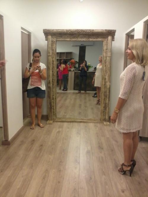 Espelho dos provadores - rústico e único